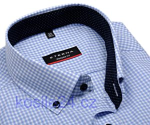 Nejprodávanější modrá károvaná pánská košile