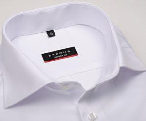 Nejprodávanější pánská bílá neprůhledná košile Eterna