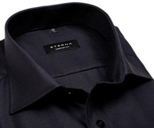 Na obrázku je nejprodávanější tmavá košile v tmavě šedé (antracitové) barvě